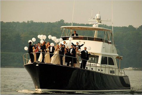 boat wedding partyjpg