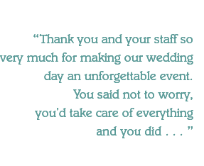 Thank you and your staff so 